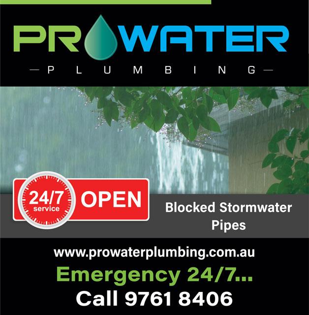 Blocked Stormwater Pipes Mitcham