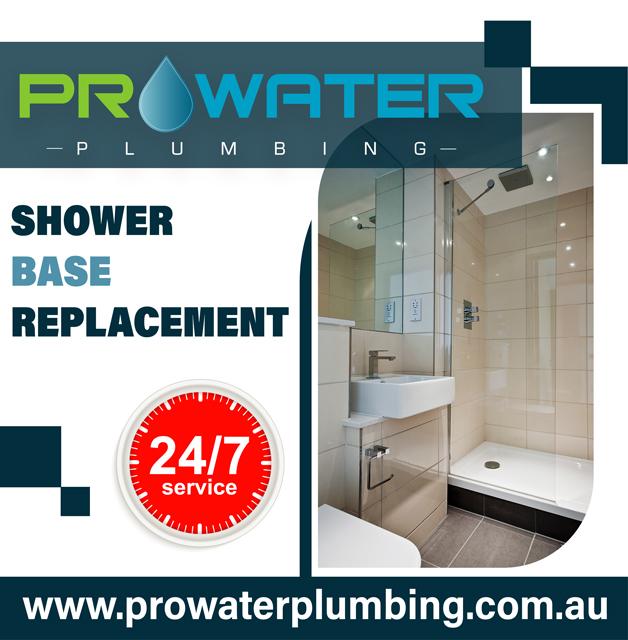 Shower Base Replacement Plumbers Warranwood